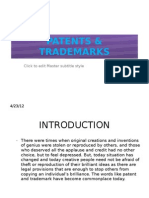 Patents & Trademarks 23