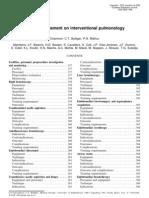 ERS-ATS Statement on Interventional Pulmonology