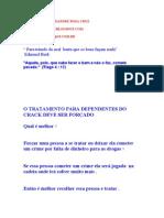 CRACK O TRATAMENTO DEVE SER A FORÇA . AUTOR DAVID ALEXANDRE ROSA CRUZ