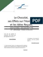 Chocolat effets sur l'homme et idées reçues