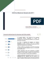 Informe Electoral Octubre