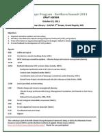 MFRC Northern Landscape Summit Agenda