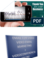 Software para videoconferencia online + video email marketing
