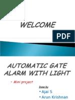 gate alarm
