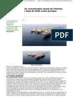 La plus importante concentration navale de l'histoire contemporaine au large du Golfe arabo-persique