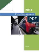 Event Management Notes