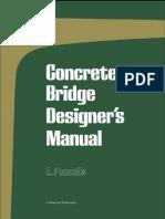 Concrete Bridge Designer Manual -0721010830
