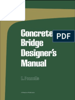 Concrete Bridge Designer Manual -0721010830