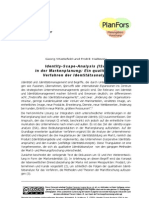 Wüstefeld, Hallsson - 2003 - Identity-Scape-Analysis