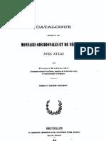Catalogue descriptif des monnaies obsidionales et de nécessité. Premier et deuxième supplement / par Prosper Mailliet