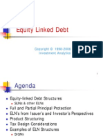 Equity Linked Debt