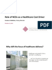 Role of NCDs as a Healthcare Cost Driver