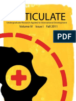 Volume IV, Issue I, Fall 2011