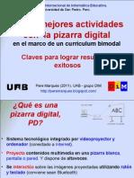 Las 12 mejores actividades con la pizarra digital en el marco de un currículum bimodal