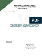 Coroziunea Microbilogica