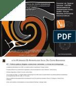 Libro de Actas III Jornadas de Antropología del Centro 2011