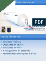 Presentacion Pastas Dentales Congreso de Fluor, Temuco 2008