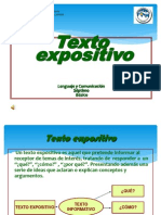 Texto expositiv