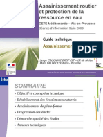 Guide Assainisement Routier
