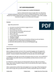 DIY User Engagement, White Paper