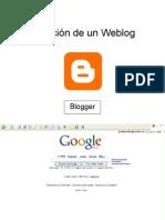 Creación de un Weblog