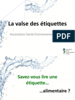 ASEF Décrypter les étiquettes - Foire de Marseille