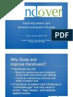 Improving Fandover Process