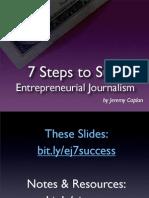 7 Steps to Entrepreneurial Success