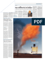 Sole24Ore - Articolo Chiusura Raffinerie ENI