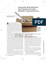Benefits of Automatic Bulk Adhesive Feed Systems