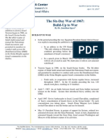 GLORIA - Six Day War of 1967, Build-Up to War