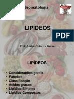 Bromatologia aula 04 Lipídeos