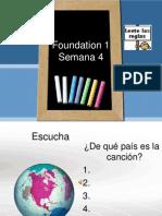 Foundation 1semana 4