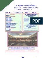 Heraldo Masonico VI-EHM-31-03
