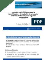 Aspectos metodológicos para la identificación y formulación de proyectos en temas de biocomercio