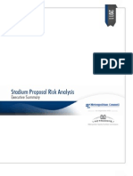 Stadium Risk Analysis Exec Summary