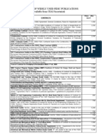 Price List - Fidic Documents