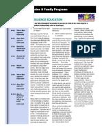 Oct Newsletter 2011 Resilience