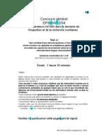 EPSO-A-12-04 - Test RVN_fr