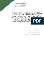Programacion Com. Audiovisual 2008-2009