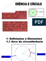 circunferência e círculo 1 ano