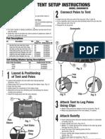 Coleman 10-Man Tent Manual