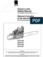 Makita DCS400 User Manual