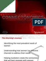 Y! General Market Women Connectonomics