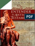 Compendio Para Entender El Antiguo Test Amen To Brent