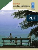 Informe Nacional de Desarrollo Humano 2011 - Colombia Rural, razones para la esperanza