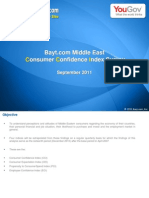 Consumer Confidence in KSA Remains Stable - Bayt .Com Survey Result Sep-2011