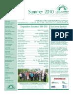 2010 LBC Summer Newsletter