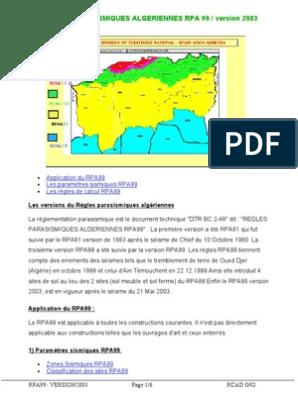2003 TÉLÉCHARGER PDF GRATUIT RPA99/VERSION