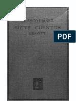 7 Cuentos - Francisco Blasco Ibañez